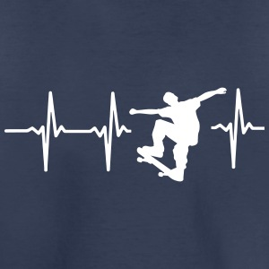 MY HEART BEATS FOR SKATEBOARDING! Baby & Toddler Shirts - Toddler Premium T-Shirt