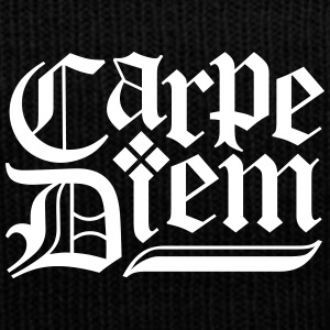 Carpe Diem Sportswear - Knit Cap with Cuff Print