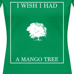 Mango tree - female - Women's Premium T-Shirt