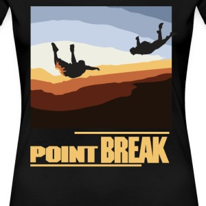 Point Break - female - Women's Premium T-Shirt