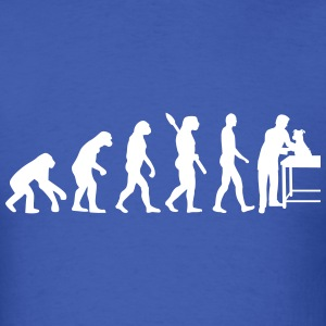 Evolution veterinarian T-Shirts - Men's T-Shirt