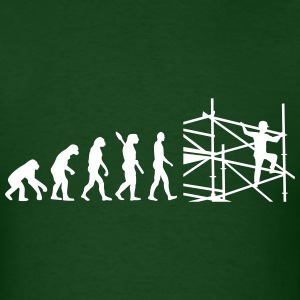 Evolution scaffolder T-Shirts - Men's T-Shirt