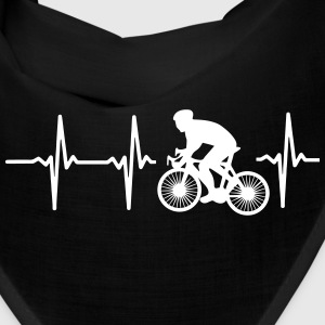 MY HEART BEATS FOR CYCLING! Caps - Bandana