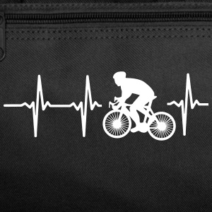 MY HEART BEATS FOR CYCLING! Sportswear - Duffel Bag