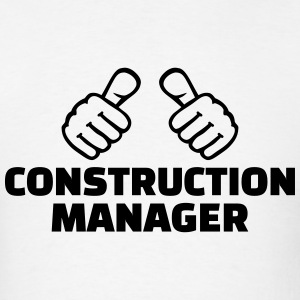Construction manager T-Shirts - Men's T-Shirt