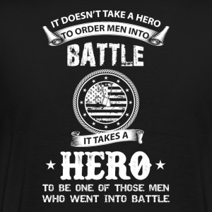 Battle Hero Veteran Day Gift For Veteran T-Shirts - Men's Premium T-Shirt