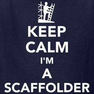 Keep calm I'm a scaffolder Kids' Shirts - Kids' T-Shirt