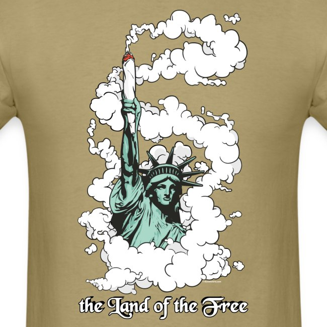 the Land of the Free ... Cannabis - male