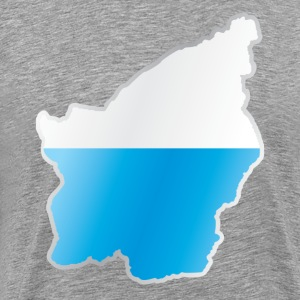 National territory and flag San Marino - Men's Premium T-Shirt