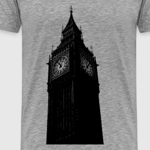 Big ben clock tower - Men's Premium T-Shirt