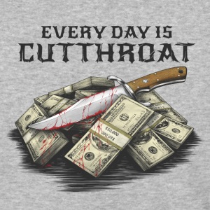 Cutthroat World - Baseball T-Shirt