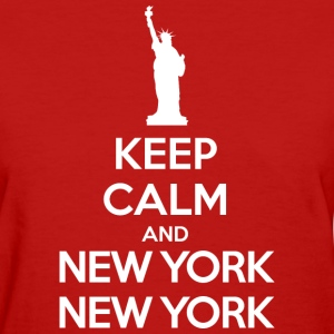 Keep calm and New York, New York Women's T-Shirts - Women's T-Shirt
