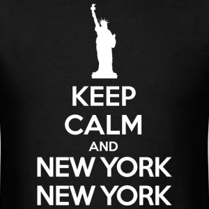 Keep calm and New York, New York T-Shirts - Men's T-Shirt