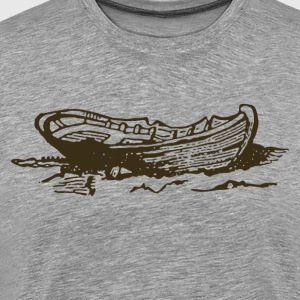 Vintage transport boat T-Shirts - Men's Premium T-Shirt