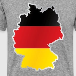 National territory and flag Germany T-Shirts - Men's Premium T-Shirt