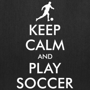 Keep Calm Soccer Player Bags & backpacks - Tote Bag