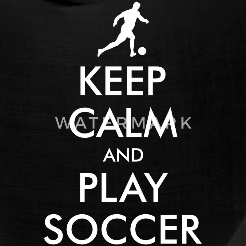 Keep Calm Soccer Player Caps - Bandana