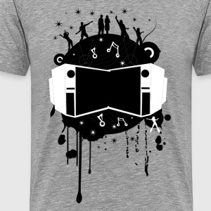 Music abstract art T-Shirts - Men's Premium T-Shirt