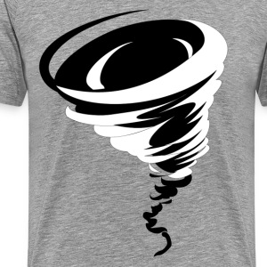 Tornado design art T-Shirts - Men's Premium T-Shirt