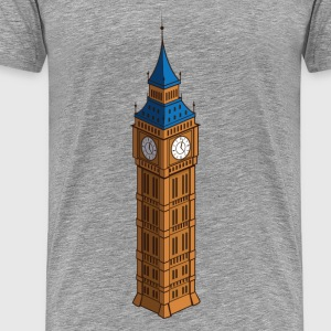 World famous big ben landmark T-Shirts - Men's Premium T-Shirt