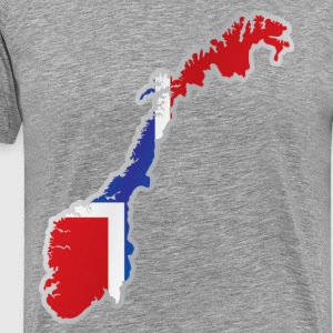 National territory and flag Norway T-Shirts - Men's Premium T-Shirt