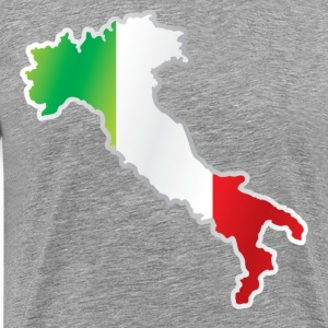 National territory and flag Italy T-Shirts - Men's Premium T-Shirt