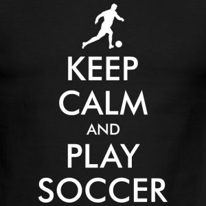 Keep Calm Soccer Player T-Shirts - Men's Ringer T-Shirt