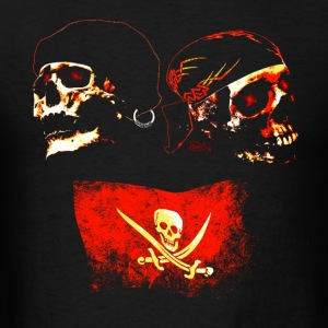 Only Red Pirates - Men's T-Shirt