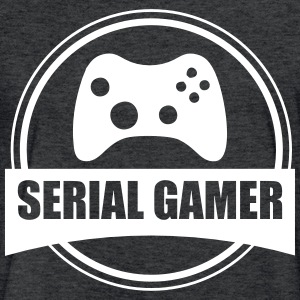 Serial Gamer T-Shirts - Fitted Cotton/Poly T-Shirt by Next Level