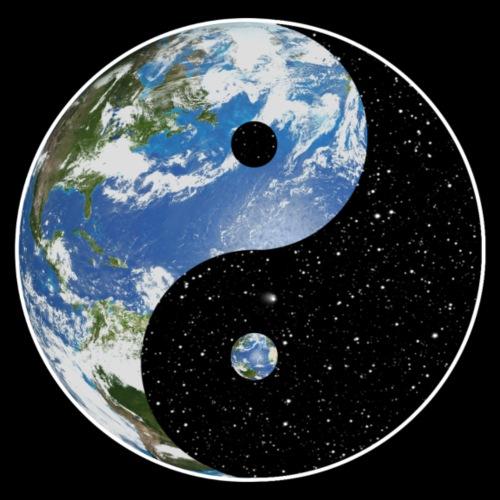 Earth / Space Yin Yang