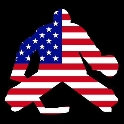 American Flag Goalie