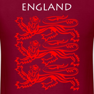 England Coat of Arms T-Shirts - Men's T-Shirt
