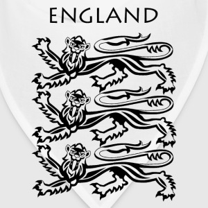 England Coat of Arms Black - Bandana