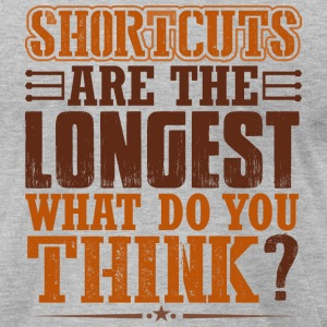 Shortcuts - Men's T-Shirt by American Apparel