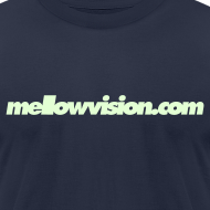Design ~ Mellowvision.com Glow-In-The-Dark T Shirt