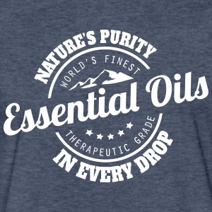 Essential Oils - Natures Purity In Every Drop T-Shirts - Fitted Cotton/Poly T-Shirt by Next Level