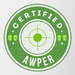 CSGO Certified Awper - Coffee/Tea Mug