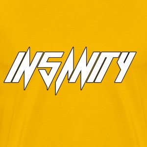 Insanity (Yellow) - Men's Premium T-Shirt