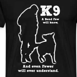 Police Military Dog K9 - Men's Premium T-Shirt