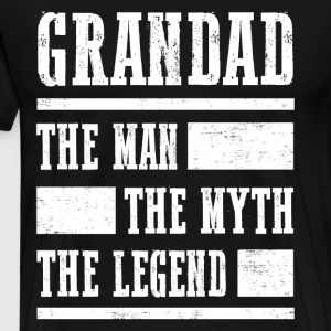Grandad The Legend T-Shirts - Men's Premium T-Shirt