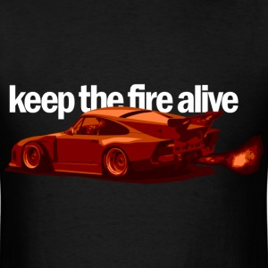 Keep the Fire Alive - Men's T-Shirt