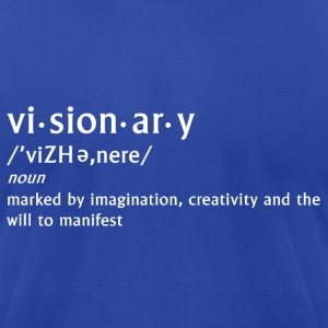 visionary definition - Men's T-Shirt by American Apparel