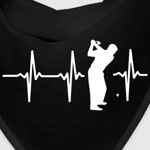MY HEART BEAT FOR GOLF! Caps - Bandana