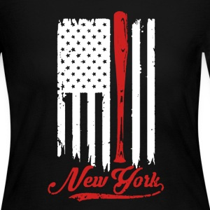 New York Baseball Shirt - Women's Long Sleeve Jersey T-Shirt