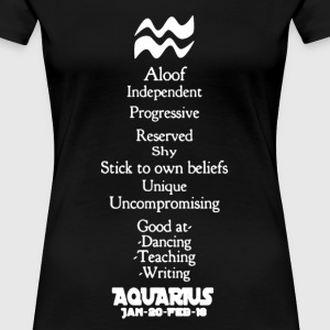 Aquarius Shirt - Women's Premium T-Shirt