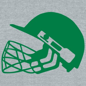 13032 cricket helmet T-Shirts - Unisex Tri-Blend T-Shirt by American Apparel