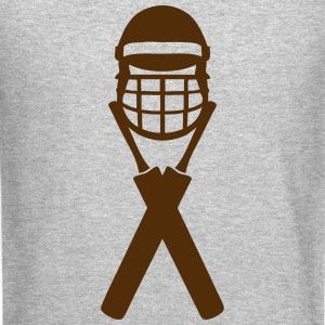 cricket bat helmet 1303_logo Long Sleeve Shirts - Crewneck Sweatshirt