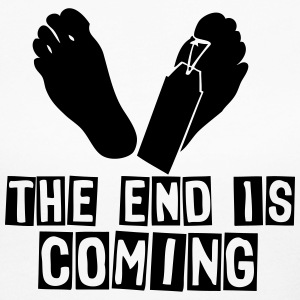 the end is coming foot Long Sleeve Shirts - Women's Long Sleeve Jersey T-Shirt