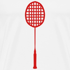racket badminton 0 T-Shirts - Men's Premium T-Shirt