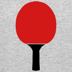 ping pong racket table tennis Long Sleeve Shirts - Crewneck Sweatshirt